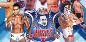 AAA Héroes Inmortales X