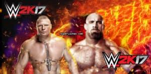 "Brock Lesnar y Goldberg en el videojuego ""WWE2K17"" / SÚPER LUCHAS - SuperLuchas.com"