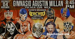 Función especial Elite: Octagón vs. Flamita, y Bobby Lashley vs. Strongman 1