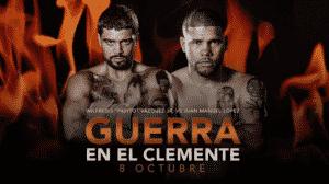 López vs. Vázquez Jr. fue pospuesta 10