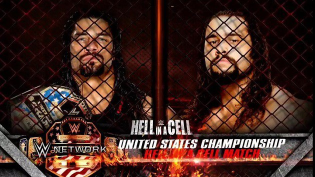 Roman Reigns vs Rusev - Hell in a Cell