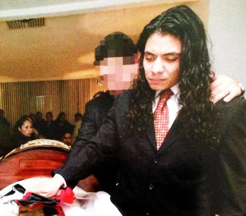 Octagón y Juventud Guerrera en el funeral de Antonio Peña / Tempei Kitani-Súper Luchas