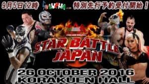 """AAA - Modificación al cartel de """"Star Battle Japan"""", salen Jack Evans y Faby Apache 14"""