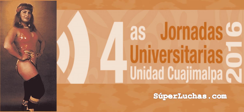 La lucha libre presente en las Jornadas Universitarias de la UAM Cuajimalpa 1