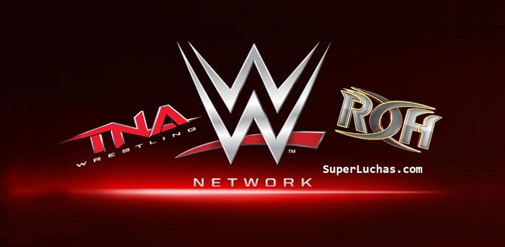 WWE Network pregunta: ¿Quiere ver TNA o ROH? / SÚPER LUCHAS - SuperLuchas.com