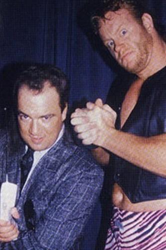 Paul Heyman y Mean Mark Callous (The Undertaker)