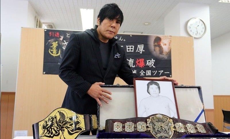 Atushi Onita anuncia su inminente retiro de la lucha libre profesional 1