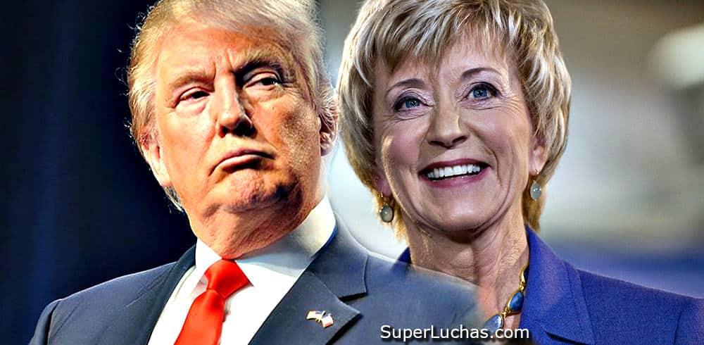 Linda McMahon sí se queda en el gabinete de Trump 1