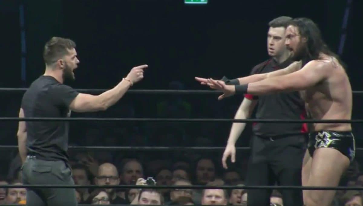 Finn Bálor (WWE) vs. Drew Galloway (TNA) en el evento independiente ICW Fear & Loathing IX (20/11/2016) / Twitter.com/InsaneChampWres