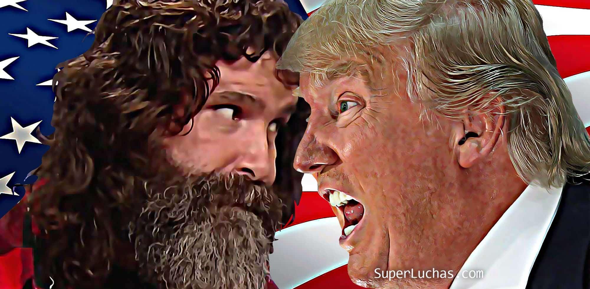 Mick Foley muestra su preocupación por Donald Trump. Steph McMahon y Triple H felices por el mismo hecho. 8