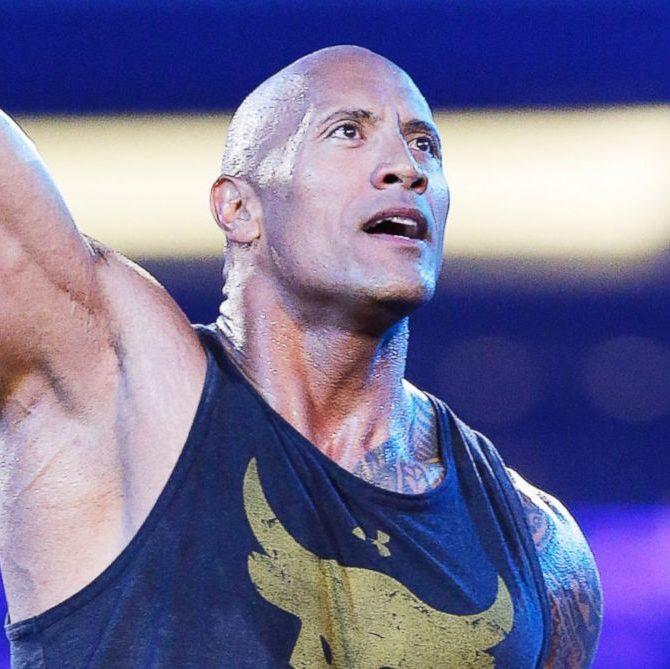 The Rock en WWE WrestleMania 32 (03/04/2016) / Photo by: Brandon Wade AP-WWE