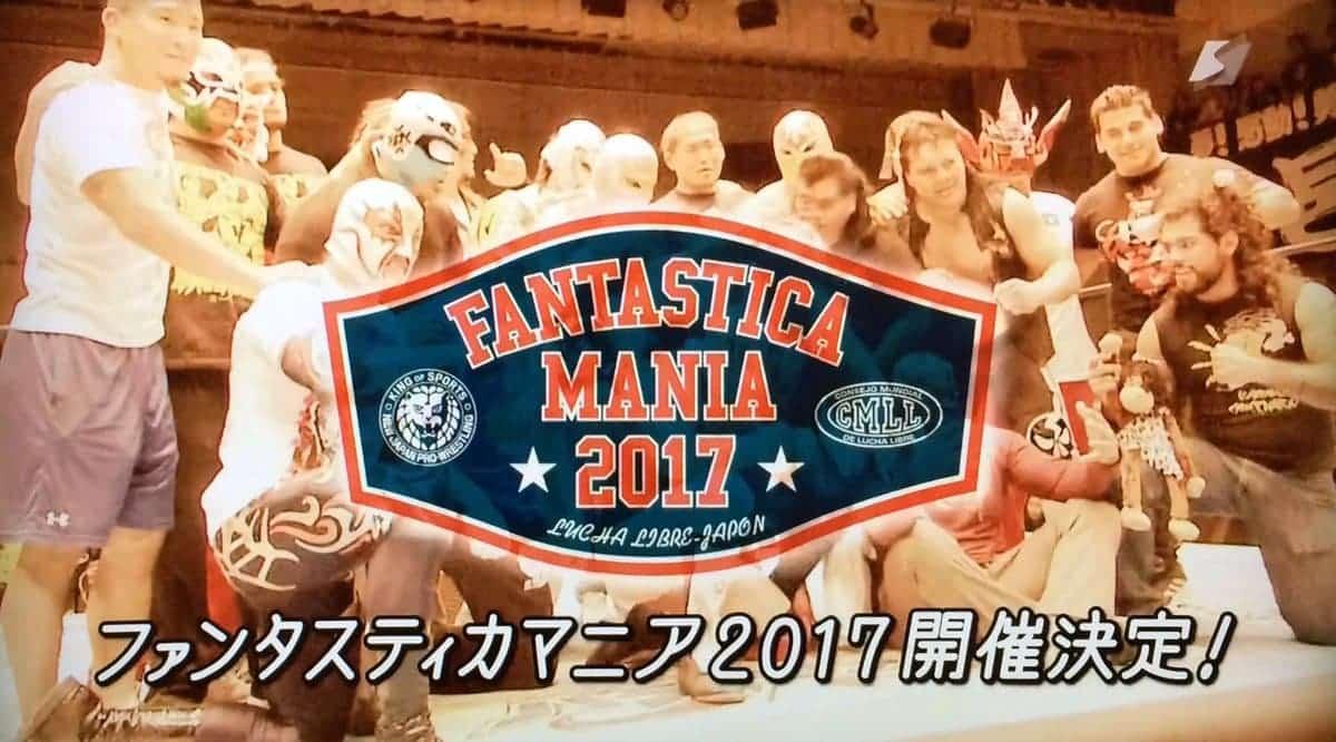 CMLL: Los directivos de NJPW hablan de Fantasticamania 2017; Dalys podría apostar su cabellera nuevamente 1