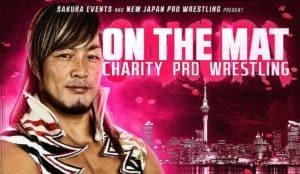 "NJPW: Cartel para ""On the Mat"" -12/11/2016 - Gran función benéfica en Nueva Zelanda 1"