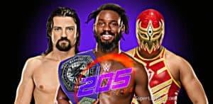 Triple Amenaza por el Campeonato Crucero WWE en Roadblock 2016 1