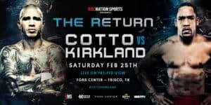 Miguel Cotto habla sobre su pelea ante Kirkland 8