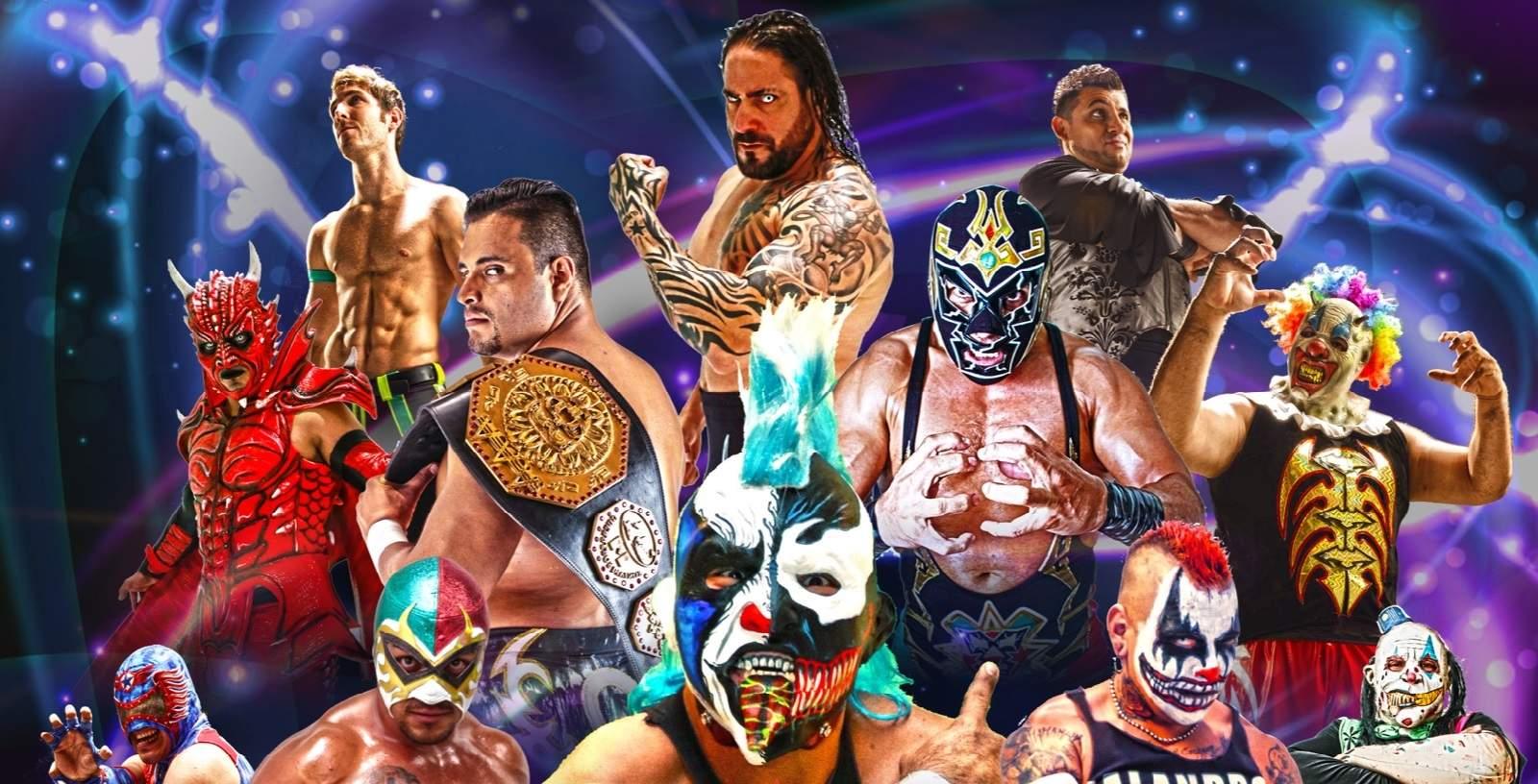 AAA: Cartel completo para Chilpancingo - 17/12/2016 - Continúa la Guerra entre Dr. Wagner Jr. y Psycho Clown 1