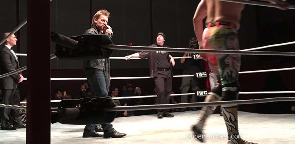 La apertura de WWE continúa: Chris Jericho se presentó en una función de IWC 2