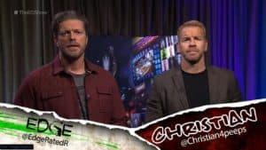 Edge y Christian en The Edge & Christian Show