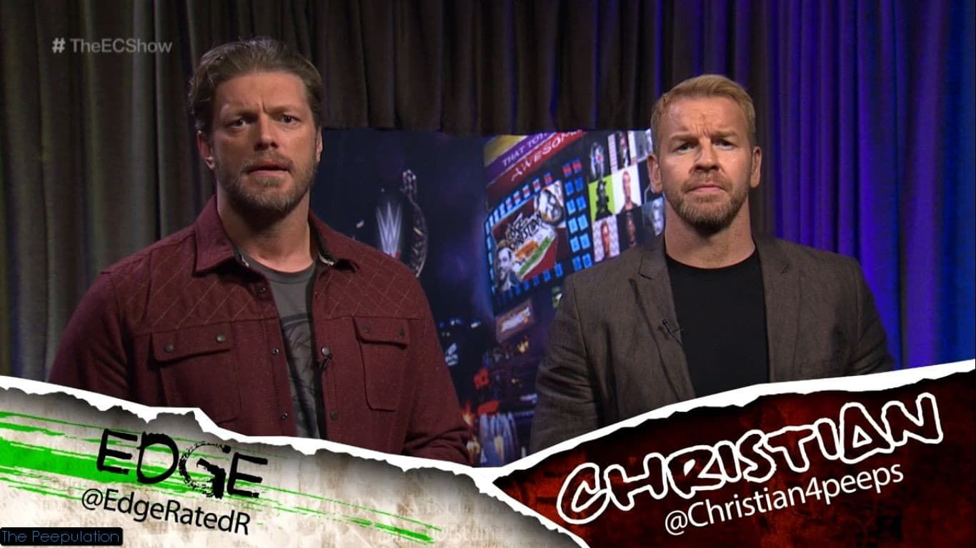 Edge y Christian en The Edge & Christian Show