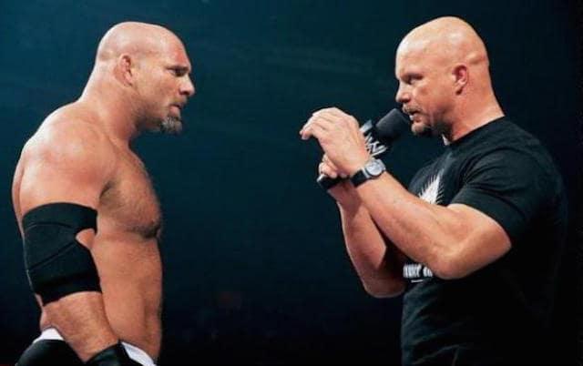 Goldberg quería matar a Stone Cold Steve Austin Goldberg y Stone Cold Steve Austin / WWE©