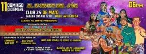 Lucha al Límite Copa Quique Arias (Club 25 de May, Buenos Aires - Argentina- 11/12/3016)