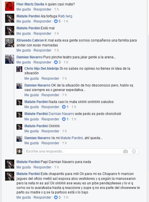 Oficial AK-47 denuncia agresión de Alberto el Patrón (Alberto del Río, exWWE) a Rafy de Las Tortugas Ninja