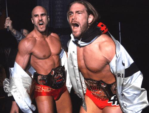 Cesaro vuelve a NXT para reunirse con Kassius Ohno 2