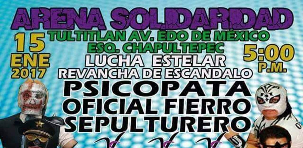 Gran función en la Arena Solidaridad de Tultitlán 1