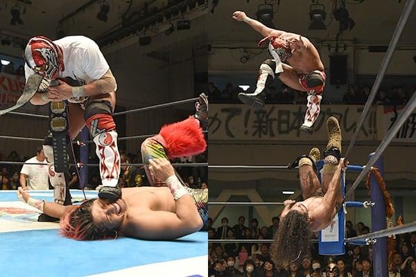 """NJPW/CMLL: Resultados """"Fantasticamanía 2017"""" - 20/01/2017 - Dragon Lee defiende su cetro pero sufre el artero ataque de Hiromu Takahashi 1"""