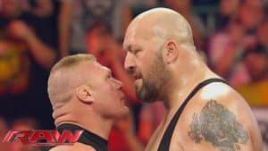 Brock Lesnar y The Big Show Cara a Cara en WWE Monday Night Raw (28/09/2016) / YouTube.com/WWE