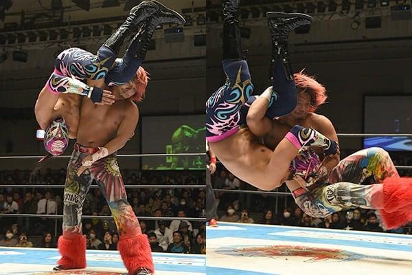 """NJPW/CMLL: Resultados """"Fantasticamanía 2017"""" - 20/01/2017 - Dragon Lee defiende su cetro pero sufre el artero ataque de Hiromu Takahashi 4"""