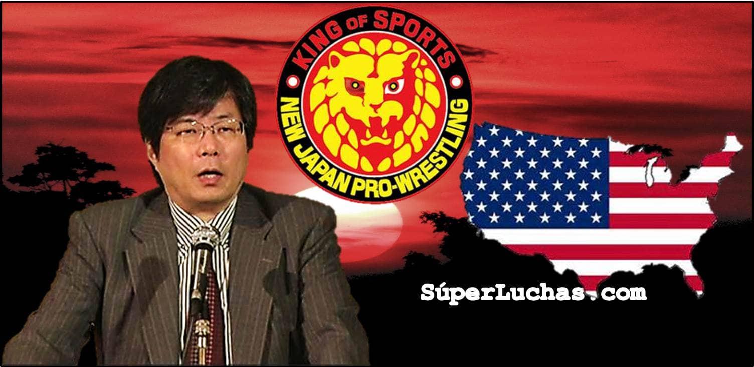 """NJPW - """"Wrestle Kingdom 11 fue un éxito; hay planes para crear una filial en los Estados Unidos"""":Takaaki Kidani 1"""