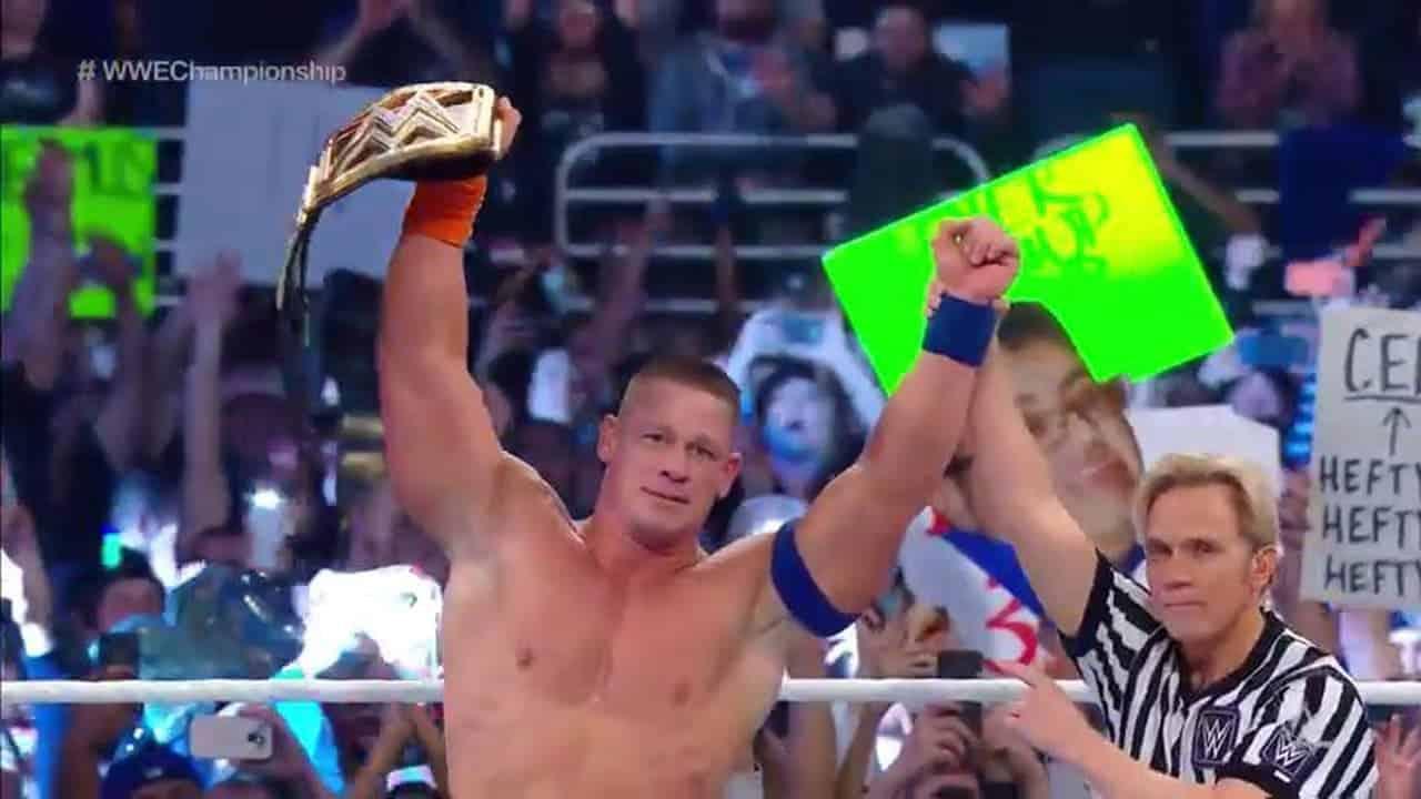 Ric Flair y John Cena
