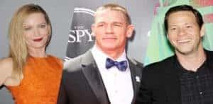 "Leslie Mann, John Cena e Ike Barinholtz en ""The Pact"" / Sportskeeda.com"
