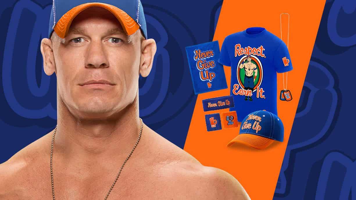Respeto. Gánatelo La nueva vestimenta que John Cena estrenó en WWE SmackDown Live (24/01/2017) - WWEShop.com