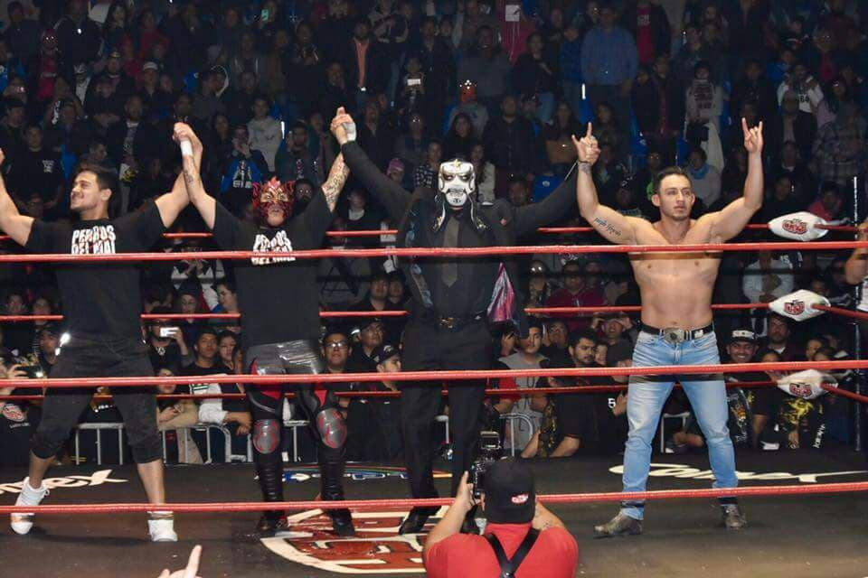 Penta 0M, Daga y Garza Jr. ya NO serán Perros del Mal, todo indica que el concepto se quedaría en Triple A 4