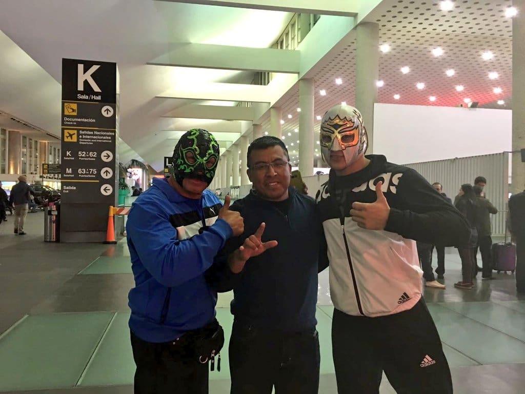 """CMLL: Arribaron a Japón los luchadores mexicanos que participarán en """"Fantasticamanía 2017"""" 1"""