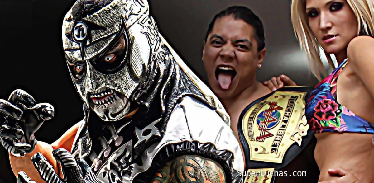 Webshow #LaArena, with Penta Zero M, Garza Jr., Super Crazy ... Also, more of the return of Super X 1