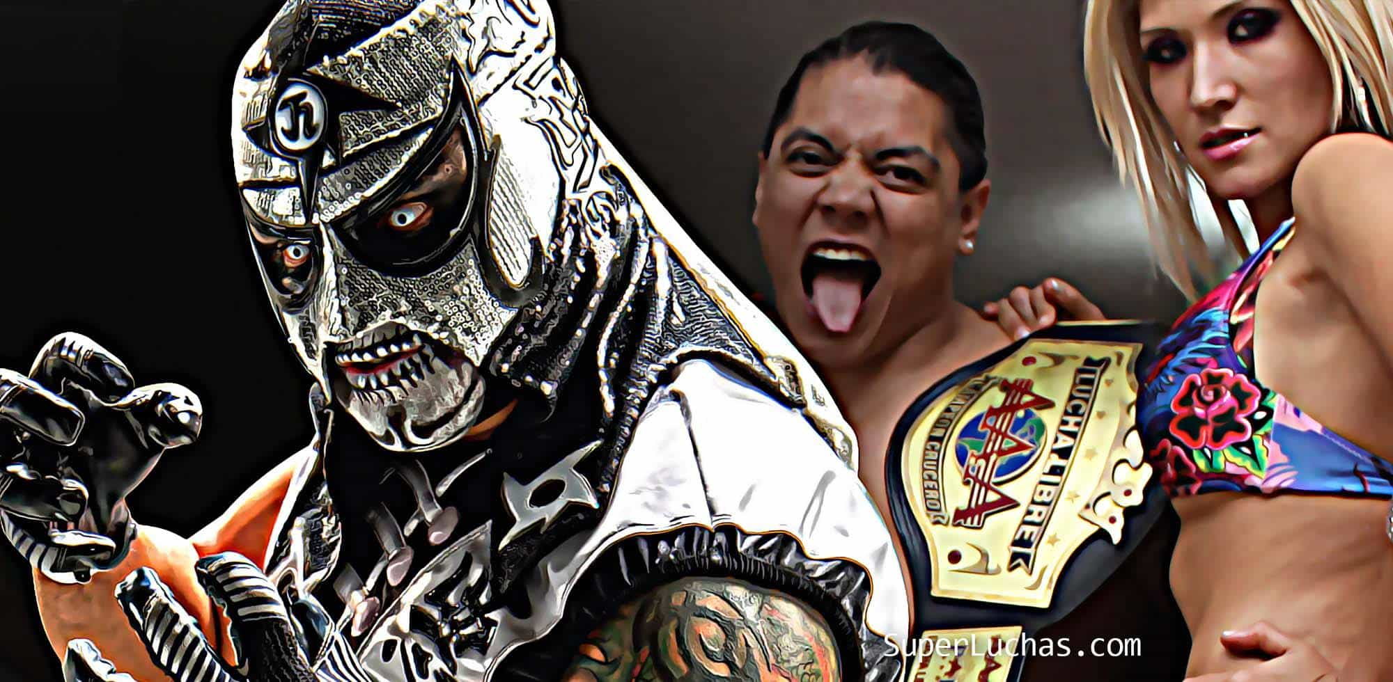Webshow #LaArena, con Penta Zero M, Garza Jr., Súper Crazy... Además, más del regreso de Super X 1