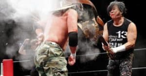 "FMW: Resultados ""I Sleep Better than a Bad Guy"" - 24/02/2017 - Onita recordó a Chavo Guerrero Sr.; su útimo duelo ante Great Sasuke 27"