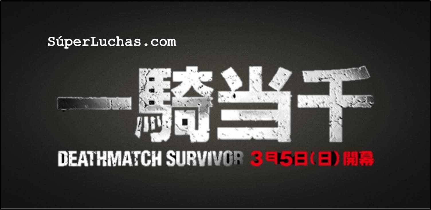 BJW: Los mejores encuentros (Fecha 1-4) del torneo Ikkitousen - Deathmatch Survivor 1