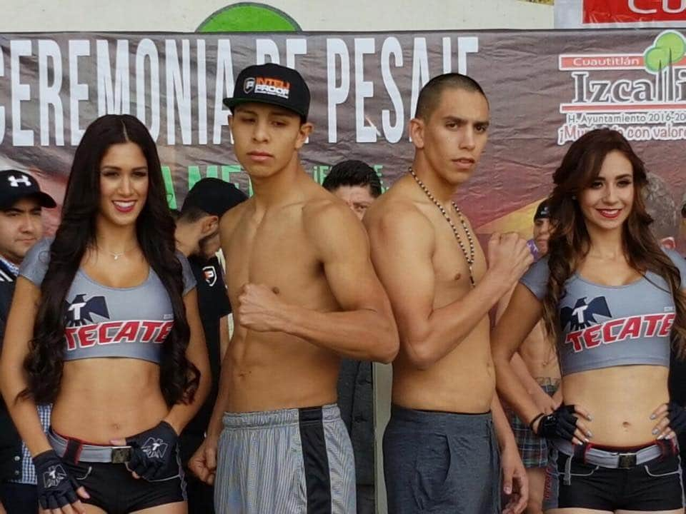 González y Munguía vencieron en las peleas previas a Nava-Lozano 2