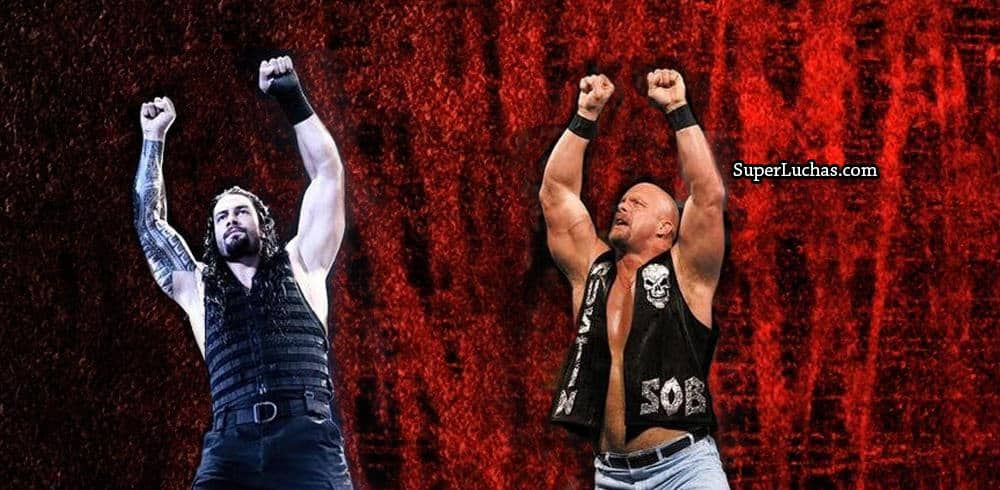 Roman Reigns y Stone Cold Steve Austin / SÚPER LUCHAS - SuperLuchas.com