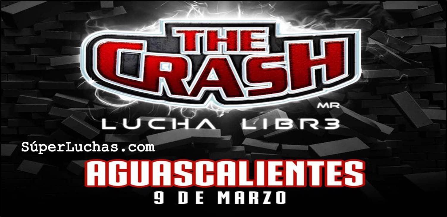 The Crash llega a Aguascalientes, Rey Mysterio Jr. y la Rebelión encabezan el cartel 46