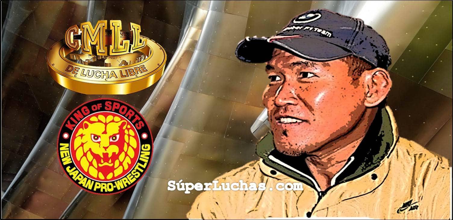 """""""Mi misión es ser el puente entre dos de las empresas de lucha libre más importantes del mundo"""": Okumura 1"""