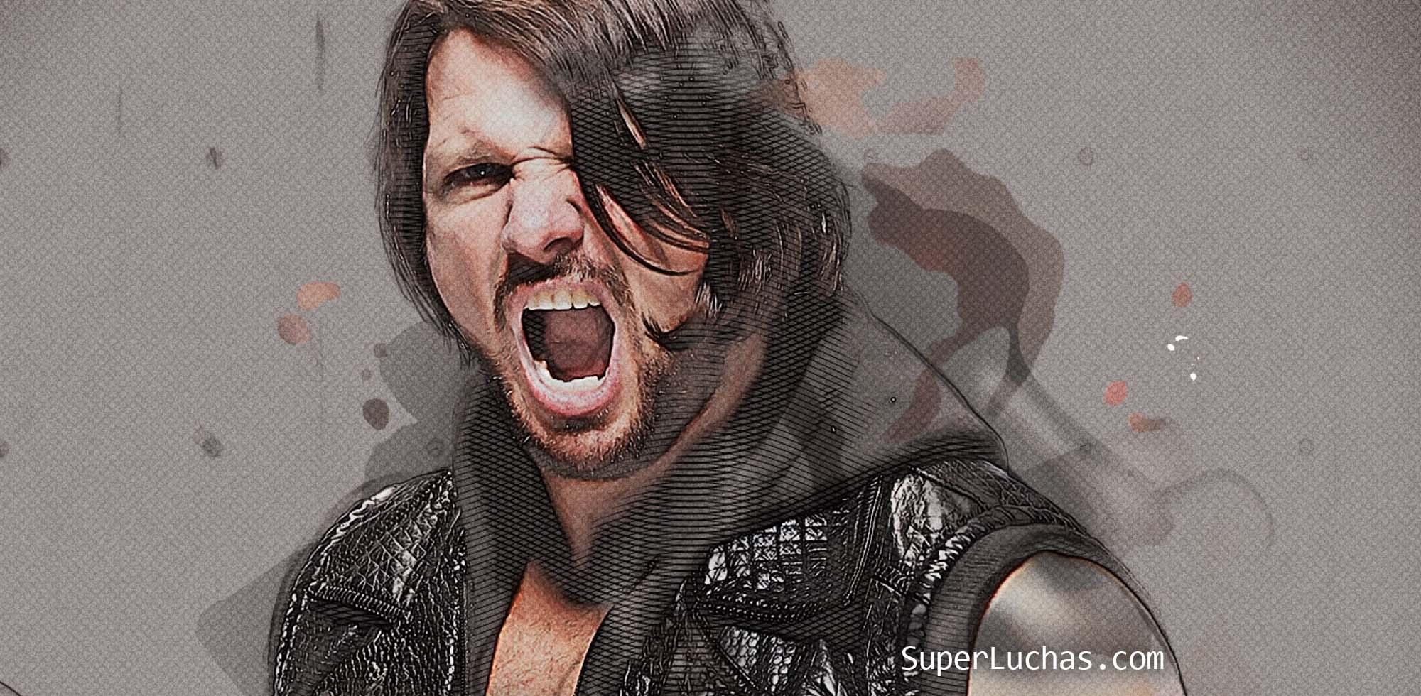 Dos hitos históricos de AJ Styles se celebran el día de hoy 9