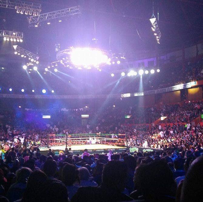 """CMLL: Resultados """"Homenaje a Dos Leyendas 2017"""" - 17/03/2017 - Diamante Azul y Pierroth en lucha por salvar su incógnita 57"""