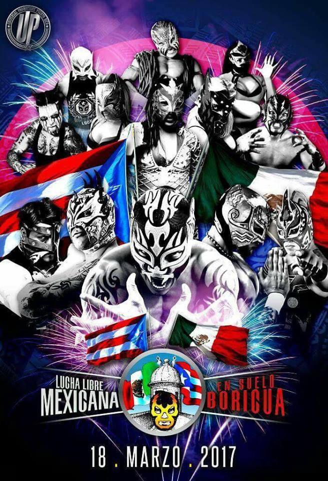 VIDEO: Luchadores Boricuas molestos con evento de Lucha Libre Mexicana en Puerto Rico 1