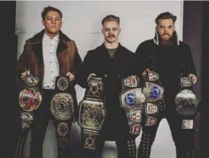 Moustache Mountain, nuevos Campeones de Parejas NXT 21