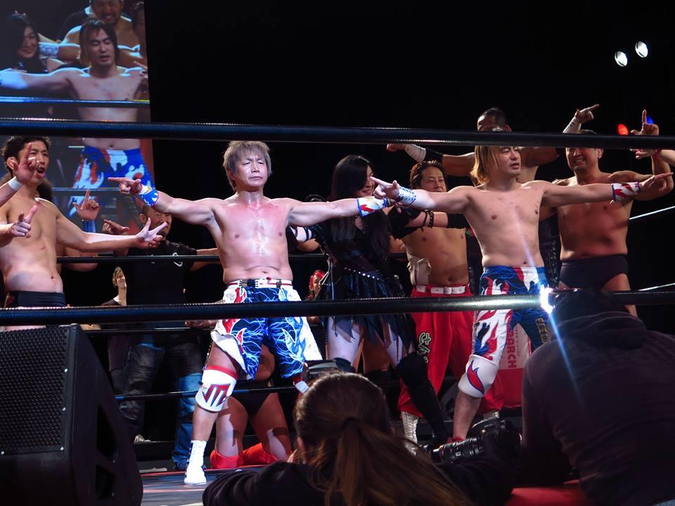 "Zero1 Resultados ""Hidaka Festival 20"" - 15/03/2017 - Ikuto Hidaka celebró 20 años como luchador profesional 12"